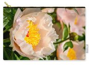 Chou Dynasty Yellow Peony Carry-all Pouch