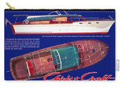 Chris-craft Conqueror Vintage Ad Carry-all Pouch