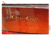 Chris Craft Logo Carry-all Pouch by Michelle Calkins
