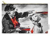 Chris-craft Sailor And Sailor Vintage Ad Carry-all Pouch