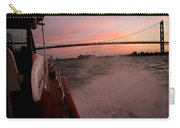 Chris Craft To The Bridge  Carry-all Pouch