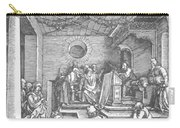Christ Among The Doctors In The Temple 1503 Carry-all Pouch