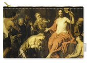 Christ And The Penitent Sinners Carry-all Pouch