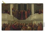 Christ And The Woman Taken In Adultery Carry-all Pouch