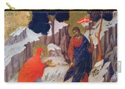 Christ Appearing To Mary 1311 Carry-all Pouch