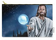 Christ At Night Carry-all Pouch