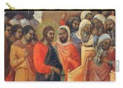 Christ Before Caiaphas Fragment 1311 Carry-all Pouch