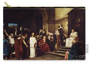 Christ Before Pilate Carry-all Pouch by Mihaly Munkacsy