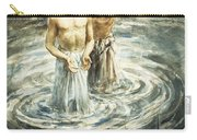 Christ Being Baptised Carry-all Pouch