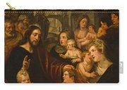 Christ Blessing The Children Carry-all Pouch