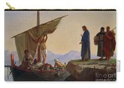Christ Calling The Apostles James And John Carry-all Pouch