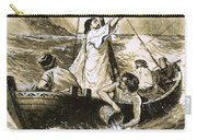 Christ Calming The Storm Carry-all Pouch