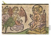 Christ Child With Three Angels Carry-all Pouch