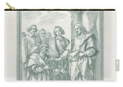 Christ Consigning The Keys To Saint Peter Carry-all Pouch