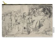 Christ Disputing With The Doctors: A Sketch Carry-all Pouch