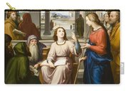 Christ Disputing With The Doctors In The Temple Carry-all Pouch