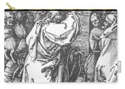 Christ Driving The Merchants From The Temple 1511 Carry-all Pouch