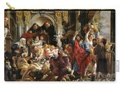Christ Driving The Merchants From The Temple Carry-all Pouch