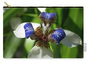 Christ Flower Vertical Carry-all Pouch