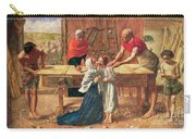 Christ In The House Of His Parents Carry-all Pouch