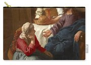 Christ In The House Of Martha And Mary Carry-all Pouch