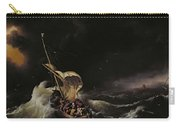 Christ In The Storm On The Sea Of Galilee Carry-all Pouch