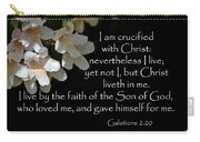 Christ Lives In Me Carry-all Pouch