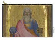 Christ Of The Apocalypse   Central Pinnacle Panel Carry-all Pouch