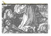 Christ On The Mount Of Olives 1511 Carry-all Pouch