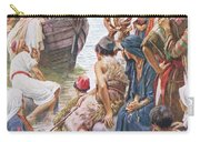 Christ Preaching From The Boat Carry-all Pouch