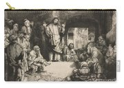 Christ Preaching (la Petite Tombe) Carry-all Pouch