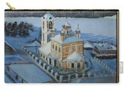 Christ Risen Church In Ples, Ivanovo Region Carry-all Pouch