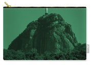 Christ The Redeemer In Green Sky Carry-all Pouch