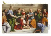 Christ Washing The Disciples' Feet Carry-all Pouch