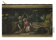 Christ Washing The Feet Of The Disciples Carry-all Pouch