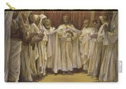 Christ With The Twelve Apostles Carry-all Pouch