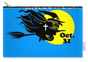 Christian Halloween Witch Carry-all Pouch