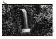 Christine Falls - Mount Rainer National Park - Bw Carry-all Pouch