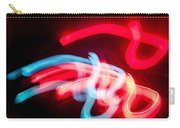 Christmas Abstract Wall Art Carry-all Pouch