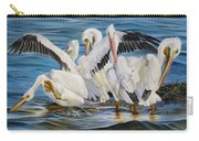 Christmas At Half Moon Island Carry-all Pouch