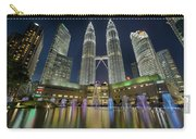 Christmas At Klcc Carry-all Pouch
