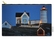 Christmas At The Nubble  Carry-all Pouch