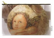 Christmas Ball , Angels Carry-all Pouch