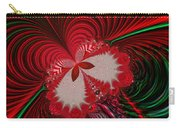 Christmas Butterfly Fractal 63 Carry-all Pouch