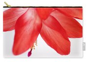 Christmas Cactus Macro Carry-all Pouch