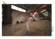 Christmas Calve Of Honor Carry-all Pouch