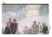 Christmas Card Carry-all Pouch by Daphne Allan