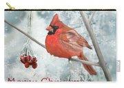 Christmas Cardinal Carry-all Pouch