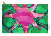 Christmas Celebration Abstract Painting Carry-all Pouch