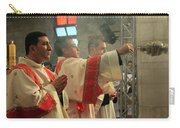 Christmas Celebration At Nativity Church Carry-all Pouch